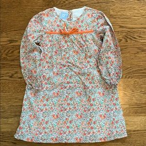 Bella Bliss Floral Dress with Cord Bow EUC